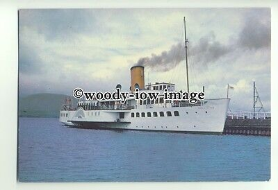 FE0891 - Scottish Paddle Steamer - Maid of the Loch , built 1953 - postcard