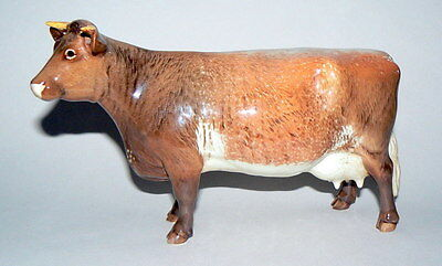 "SUPERB BESWICK DAIRY SHORTHORN COW - CH ""EATON WILD EYES 91st"" - MODEL No 1510"
