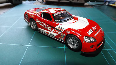 SCALEXTRIC DODGE VIPER Car With Lights !