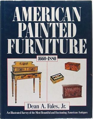 Antique American Painted Furniture -Formal & Country -The Classic Fales Book