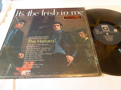 The Halliard - It's The Irish In Me , Saga 1967 , Vg++/vg++ ,lp