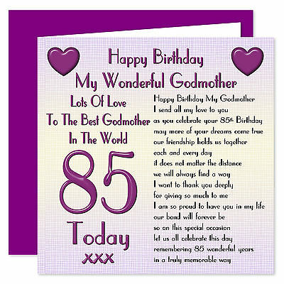 My Godmother Lots Of Love Happy Birthday Card