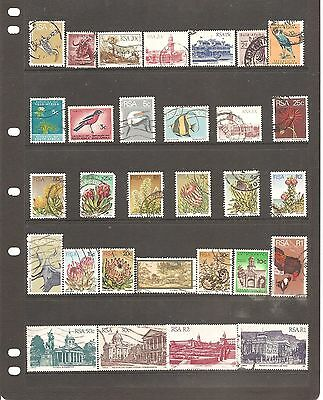 Sheet South Africa    Fine Used Stamps All Different