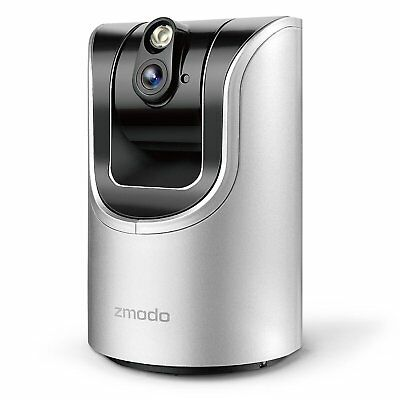 Zmodo Pan and Tilt Smart HD Wireless Two-Way Audio Camera with Night Vision