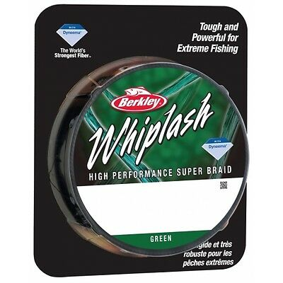 Berkley Whiplash Braid 125yd 110m - 3 Colours - CLOSING DOWN CLEARANCE!