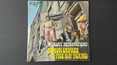 Simon Dupree The Big Sound Without Reservations 1967 orig 12' vinyl LP PCS 7029
