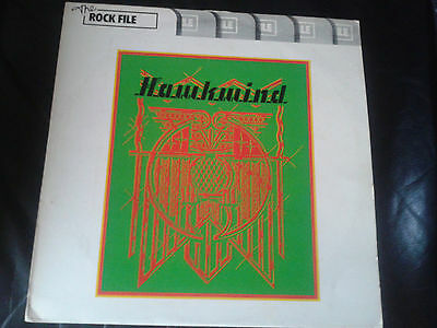 Hawkwind - S/T LP (1970) United Artists