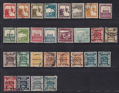Palestine Old Used Stamps
