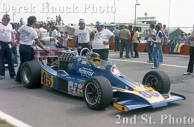 1-4X6 Photo  #85 Larry Cannon  Indy Car Michigan 1978