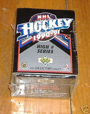 upper deck update hockey 1990 factory set