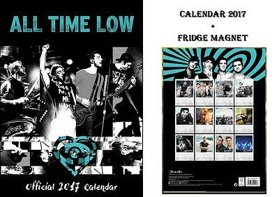 All Time Low Official 2017 Calendar + All Time Low Fridge Magnet