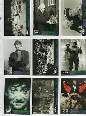Dr Doctor Who Timeless  -  100-card green parallel set NM Topps 2016