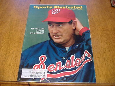 sports illustrated  march 17  1969   ted williams