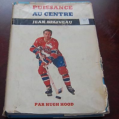 Jean Beliveau  1970 by Hugh Hood French Edition