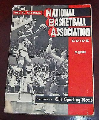 The Sporting News National Basketball Association 1966-1967