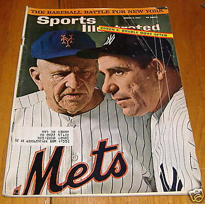 sports illustrated march 2 1964  stengal & berra