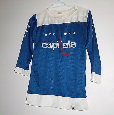 washington capitols jersey youth XL 18-20 size 1970's