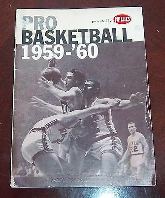 Phillies presesnts Pro Basketball 1959-60