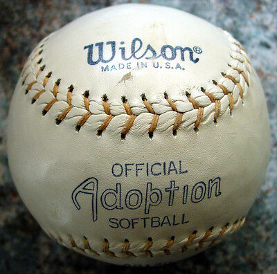 WILSON A9136 Vintage SOFTBALL made in USA