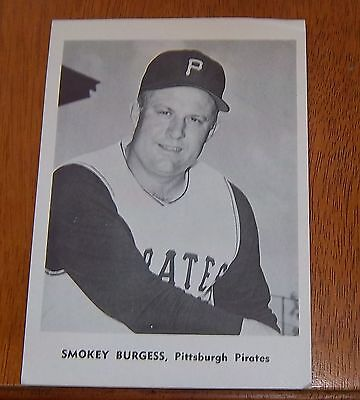 Smokey Burgess Pittsburgh Pirates player photo MLB