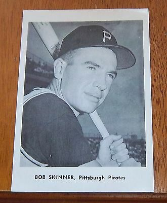 Bob Skinner Pittsburgh Pirates player photo MLB