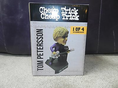 2016 Rockford Rivets Tom Petersson Cheap Trick Rock & Roll HOF Bobblehead SGA