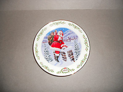 Lenox Int'l Victorian Santas Plate Collection Santa Claus Plate (1995) NM Cond