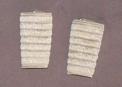 Pair of protections for shoulder straps belts Accordion. Colour : Beige