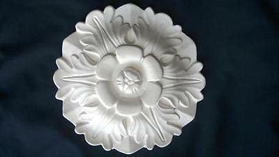 2Xsmall Plaster Rosette Ceiling Rose/wall Plaque 17.7Cms Diam With Free Delivery