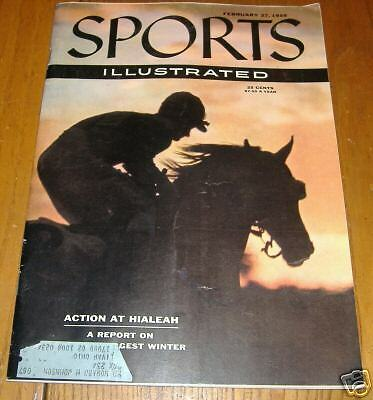 sports illustrated  feb 27  1956   action at hialeah