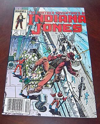 Marvel The Futher adventures of Indiana Jones # 16 April.