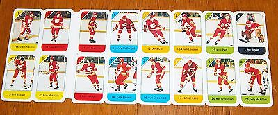 Post cereal panel 1982-83 Calgary Flames
