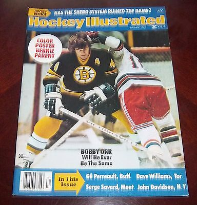 Hockey illustrated Special  January 1976  Bobby Orr  with color inserts