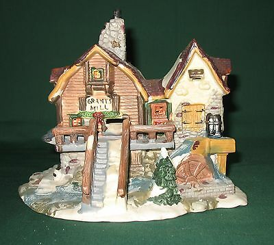 """Christmas Streets Village Collection """"Grant's Mill""""."""