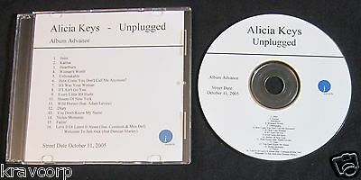 Alicia Keys 'Unplugged' 2005 Promo Cd