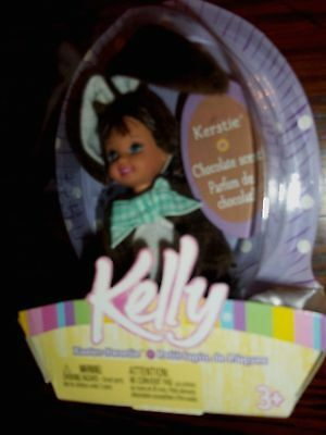 Barbie Kerstie Kelly Doll 5 Inch Chocolate Bunny Outfit 2004 New