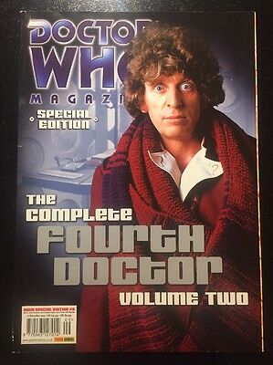 Doctor Who Magazine The Complete Fourth Dr Volume 2 Special Edition Rare DWM