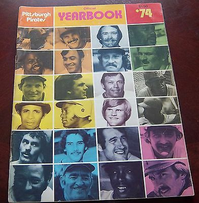 Pittsburgh Pirates Yearbook 1974