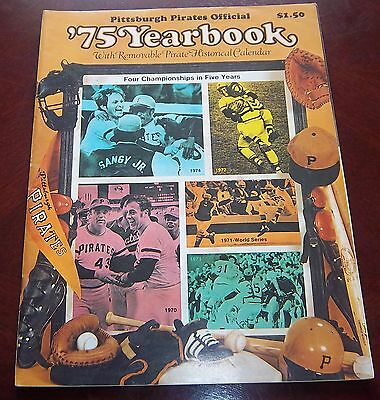 Pittsburgh Pirates Yearbook 1975