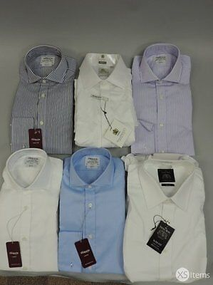 Job Lot x 6 Men's Assorted Shirts Mixed Items Sizes Styles Brands Colour Pattern