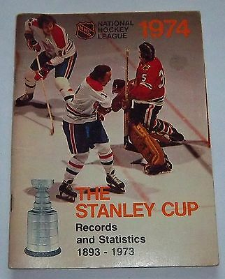 NHL official guide the stanley cup records 1974