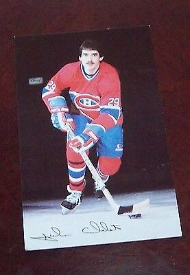 Montreal Canadians post card 1980's John Chabot # 29