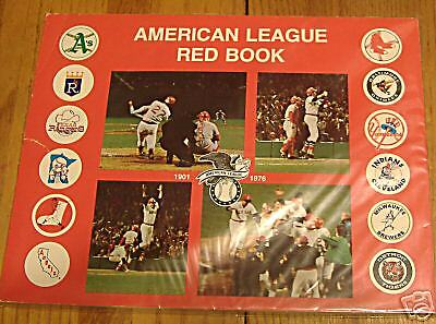 american league red book 1976