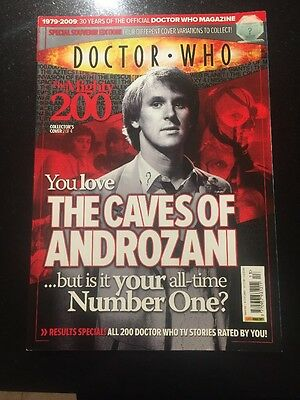 Dr Doctor Who Magazine #413 Mighty 200 Special - Caves Of Androzani Cover