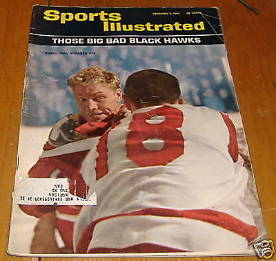 sports illustrated  feb 3 1964  bobby hull