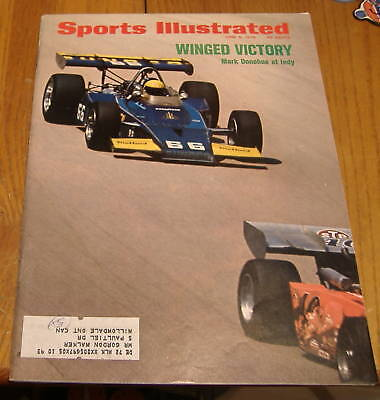 sports illustrated  june  5 1972  mark donohue