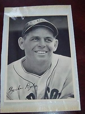 Boston Red Sox Mike Ryba 1940's player photo on photo page