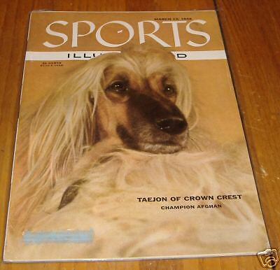 sports illustrated  march  12 1956   champion afghan