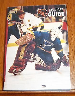 NHL official guide 1981-82  Mike Liut