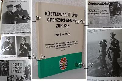 DDR NVA Buch Grenzbrigade Küste Grenzpolizei 1945 -1961 / east german book